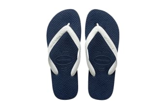 Havaianas Color Mix Thongs (Navy Blue/White)