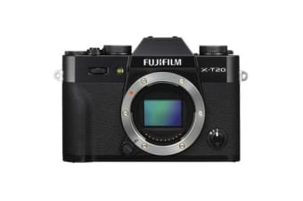New Fujifilm X-T20 Mirrorless 24MP Body Digital Camera Black (FREE DELIVERY + 1 YEAR AU WARRANTY)