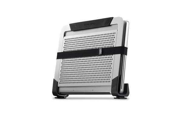 Coolermaster NotePal U2 PLUS Silver Notebook Cooler Stand, 2x movable Fan, Support up to 17' Notebook