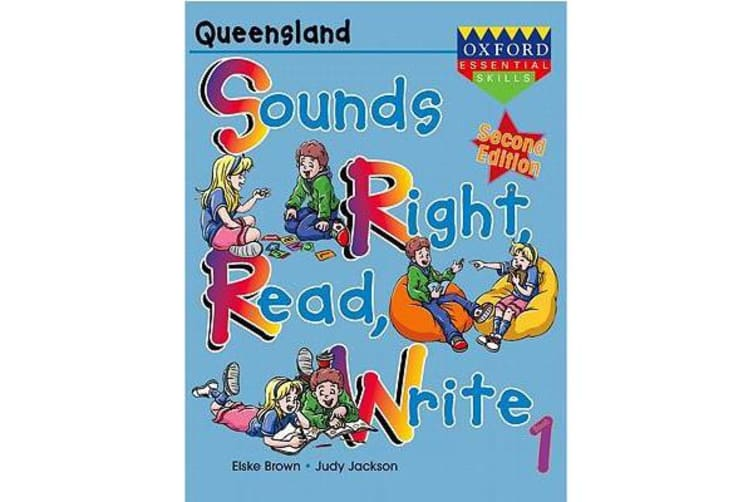 Sounds Right, Read, Write Queensland Book 1
