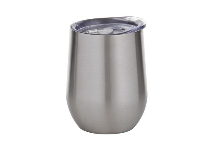 Davis & Waddell Stainless Steel Double Wall Cool Cup 350ml Silver