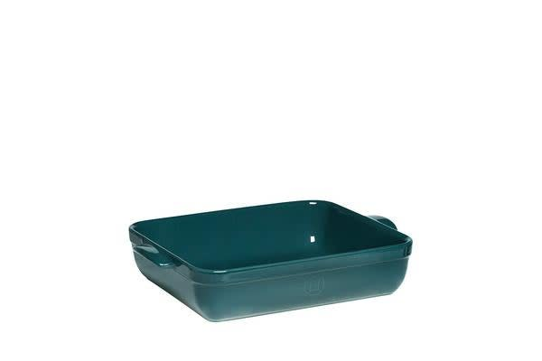 Emile Henry Rectangular Baking Dish 35 x 25.5cm Blue Flame