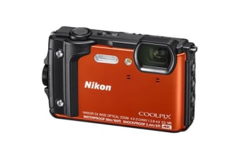 New Nikon Coolpix W300 16MP Digital Camera Orange (FREE DELIVERY + 1 YEAR AU WARRANTY)