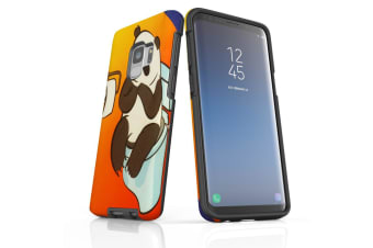 For Samsung Galaxy S9 Case Armour Cover  Panda's Toilet