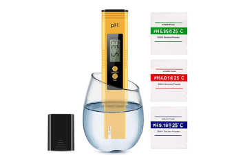 PH Tester Meter/PH 0-14.0 Measuring Range, Quality Tester for Household Drinking Water, Swimming Pools, Aquariums