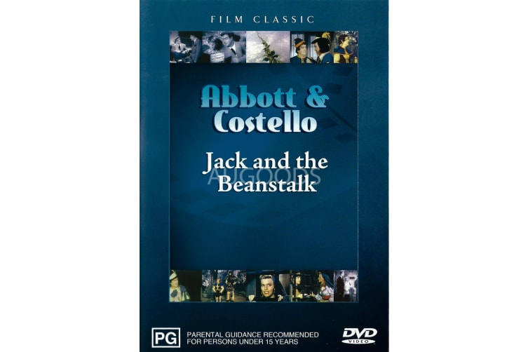 Abbott & Costello Jack and the Beanstalk -Kids Region 4 DVD PREOWNED: DISC LIKE NEW