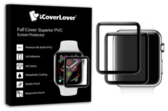 For Apple Watch 44mm 3D Full Screen PVC Screen Protector iCoverLover