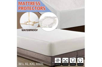 Non Woven Luxury Mattress Protector Double