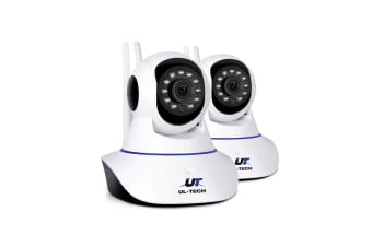 UL-Tech 720P Wireless IP Camera 2 pack