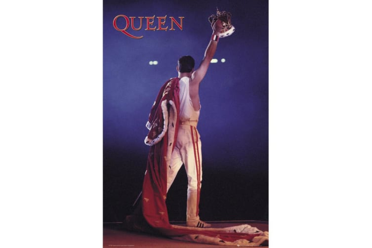 Queen Official Poster (Multicolour) (One Size)