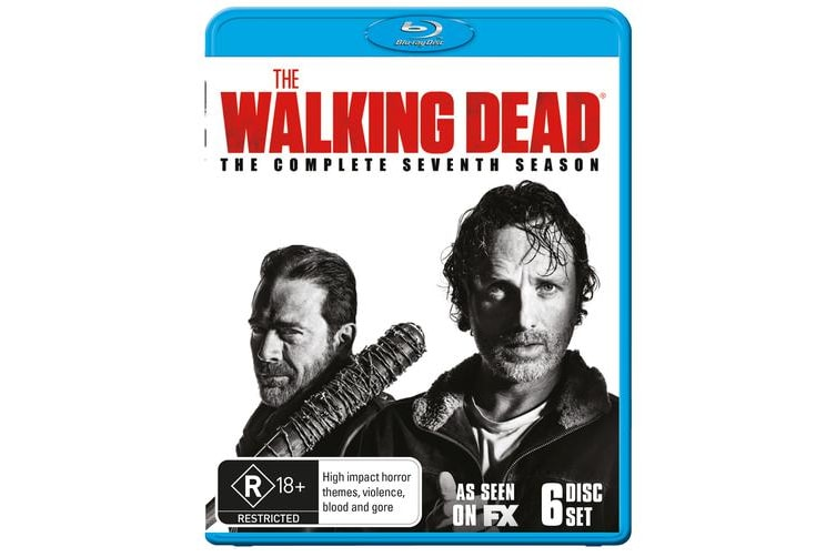 The Walking Dead The Complete Seventh Season 7 Box Set Blu-ray Region B