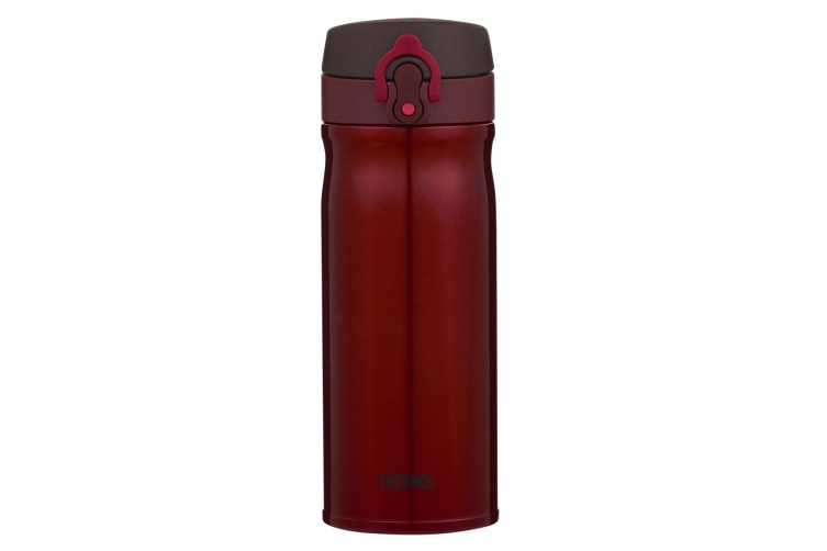 Thermos 400ml Stainless Steel Vacuum Insulated Direct Drink Bottle - Red