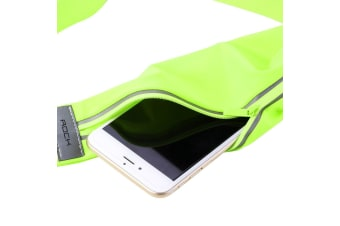 Universal Waist Bag Sporty High-Quality Sweat-proof Smartphone Pouch Green