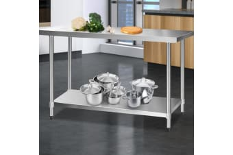 Stainless Steel Kitchen Benches Work Bench Food Prep Table 1524x610