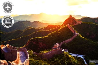 CHINA: 10 Day China Tour Including Qantas Flights for One or Two