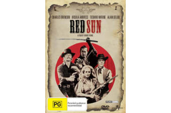 Red Sun DVD Region 4