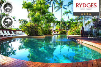 CAIRNS: 4 Nights at Rydges Esplanade Resort Including Flights for Two
