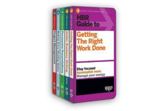 HBR Guides to Being an Effective Manager Collection (5 Books) (HBR Guide Series)