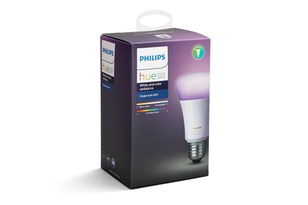 Philips Hue White and Colour Ambiance Single Bulb E27 (4 Pack)