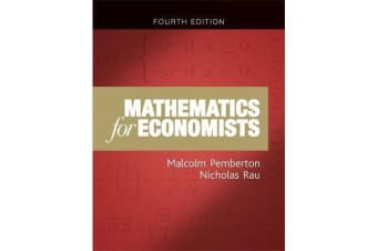 Mathematics for Economists - An Introductory Textbook (New Edition)