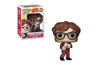 Austin Powers Austin Powers Red Suit US Exclusive Pop! Vinyl
