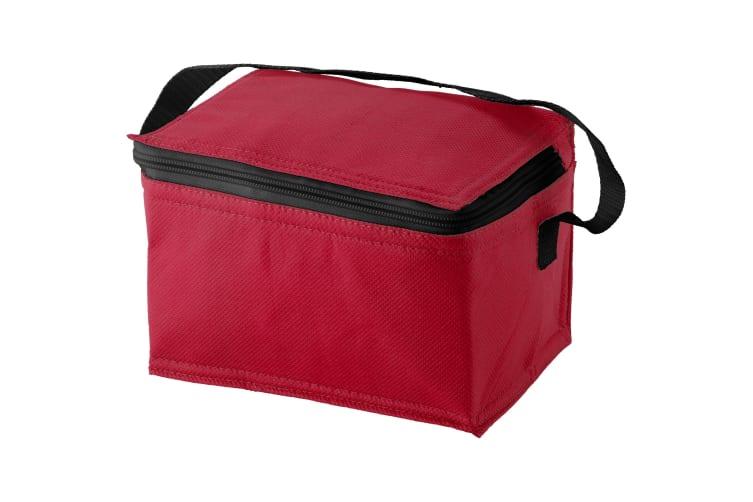 Bullet Spectrum 6 Can Cooler Bag (Pack of 2) (Red) (20 x 15 x 12 cm)