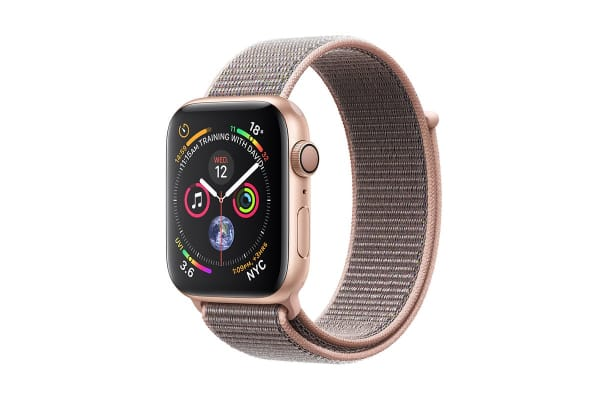 Apple Watch Series 4 (Gold, 44mm, Pink Sand Sport Loop, GPS Only)