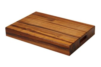 The Big Chop Rectangular Board 50 x 34 x 7cm Blackwood
