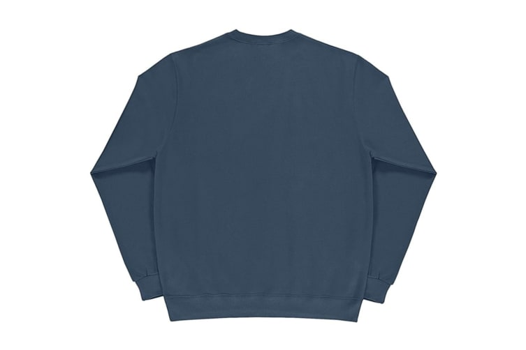 SG Mens Long Sleeve Crew Neck Sweatshirt Top (Denim) (XL)