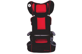 The First Years Ultra Plus Folding Booster Seat in Racing Red