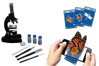 Vivitar Microscope Kit with AR Cards