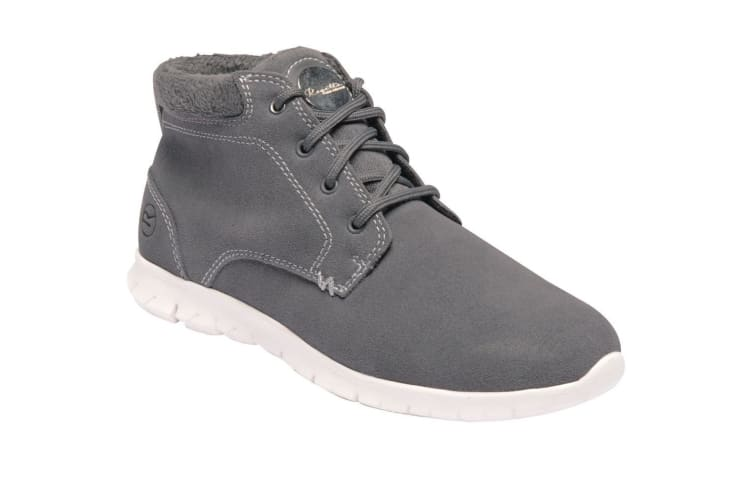 Regatta Womens/Ladies Ly Marine Mid Suede Leather Light Ankle Boots (Granite) (6 UK)