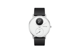 Withings Steel HR 36mm (White, Black Band)