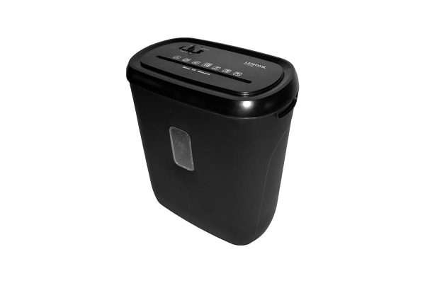 Lenoxx 10 Sheet Cross Cut Paper Shredder with Basket