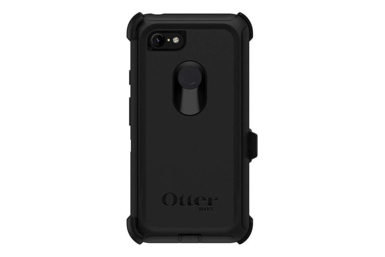 online store d2283 63d80 Otterbox Defender Case for Google Pixel 3 XL - Black