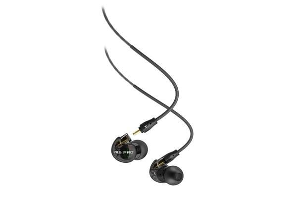 Mee Audio M6 PRO In-Ear Monitors - Smoke - Universal-Fit Noise-Isolating Musicians In-Ear Monitors