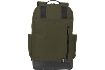 Tranzip Computer Daily Backpack (Olive) (27.5 x 10 x 45.5cm)