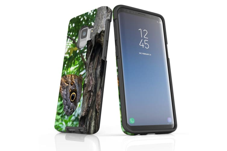 For Samsung Galaxy S9 Case Armour Cover  Butterfly On a Tree