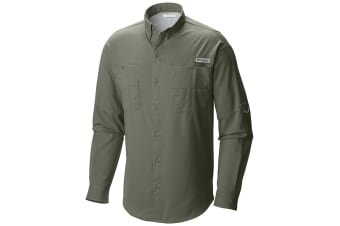 Columbia Mens PFG  Tamiami II Long Sleeve Shirt - Cypress