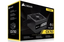 Corsair 750W CX 80+ Bronze 140mm FAN Black ATX PSU 5 Years Warranty 2017 Version