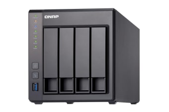 QNAP TS-431X2 Ethernet LAN Tower Black NAS