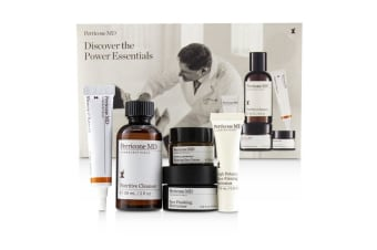 Perricone MD Discover The Power Essentials Kit: Nutritive Cleanser+Firming Activator+Finishing Moisturizer+Eye Cream+Vitamin C Ester 5pcs