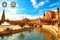 SPAIN, PORTUGAL & MOROCCO: 17 Day Tour Including Flights for Two
