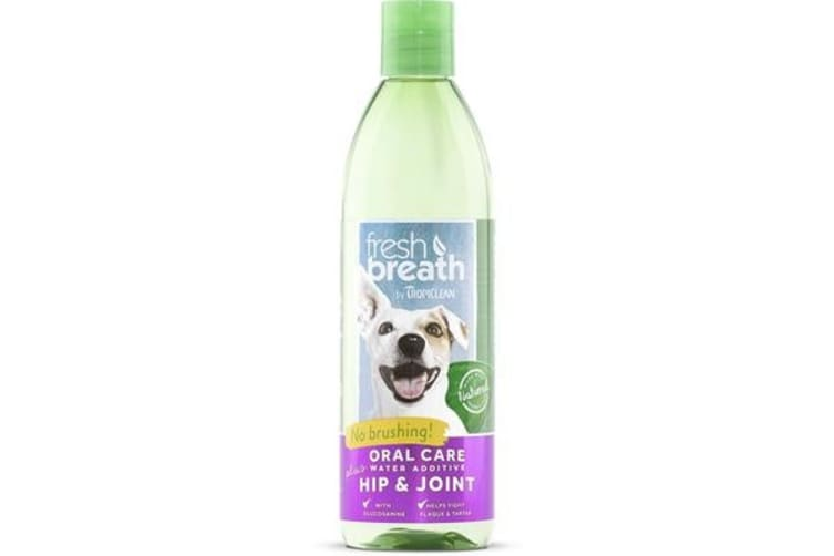 TropiClean Fresh Breath Water Add Hip And Joint