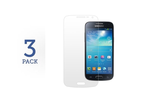 3 Pack Screen Protector for Samsung Galaxy S4 Mini