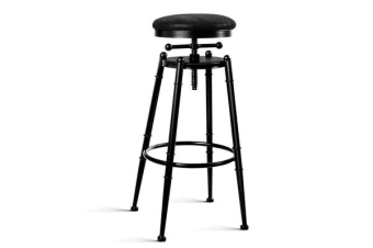 Artiss Industrial Vintage Bar Stool Retro Barstool Dining Chair Kitchen Café