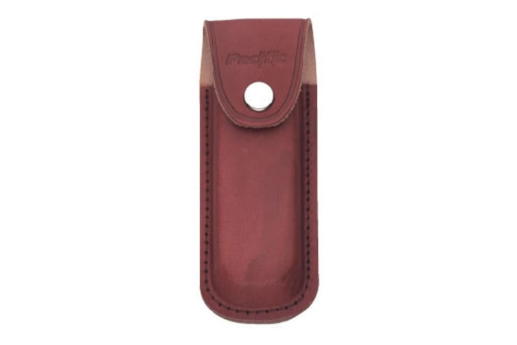 Pacific Cutlery Sheath - Leather Brown Large - 12cm L x 5cm W