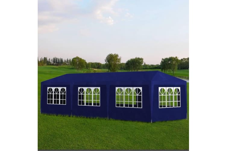 vidaXL Party Tent 3x9 m Blue