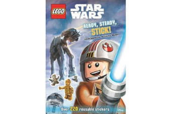 LEGO (R) Star Wars - Ready, Steady, Stick! Intergalactic Activity Book