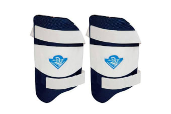 2x Spartan MC 3000 Cricket Thigh Pad Guard/Protection Left Handed Men Size Sport